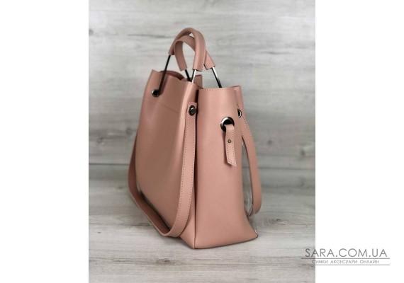 Молодіжна сумка Рамона бежевого кольору c силіконом WeLassie