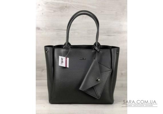 2в1 Молодіжна сумка Аланна сірого кольору WeLassie