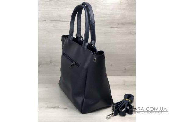 2в1 Молодіжна сумка Аланна синього кольору WeLassie