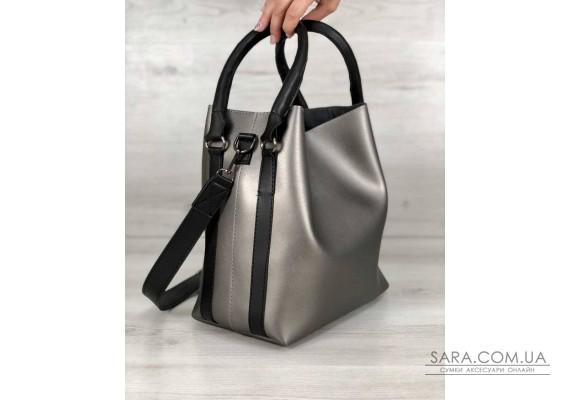 Молодіжна жіноча сумка Леора металік WeLassie