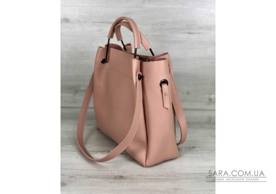 Молодіжна сумка Рамона персикового кольору WeLassie