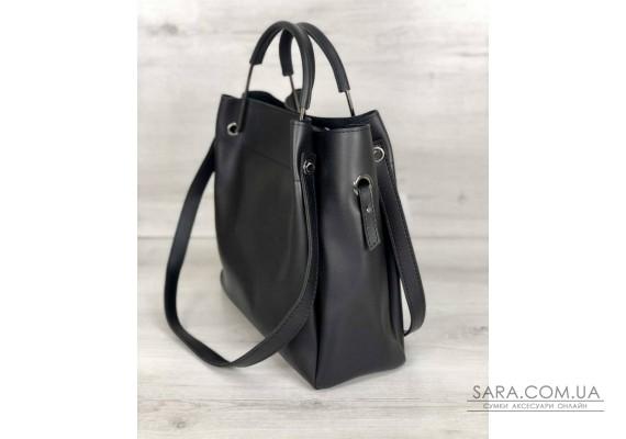 Молодіжна сумка Рамона чорного кольору WeLassie