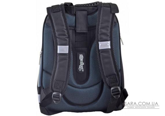 Шкільний каркасний рюкзак 1 Вересня 29х38х15 см 16 л для хлопчиків H-12 Star Wars (554597)