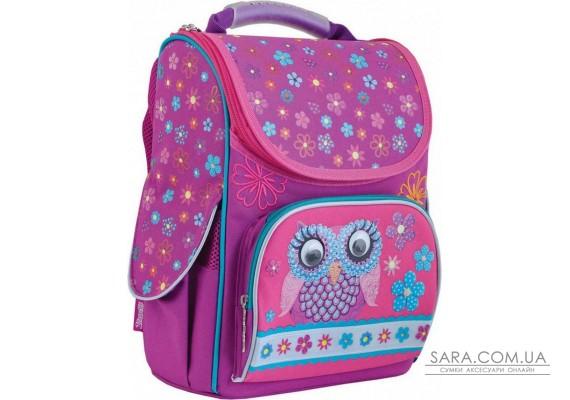 Рюкзак каркасний для дівчинки 1 Вересня H-11 Owl yes 553281