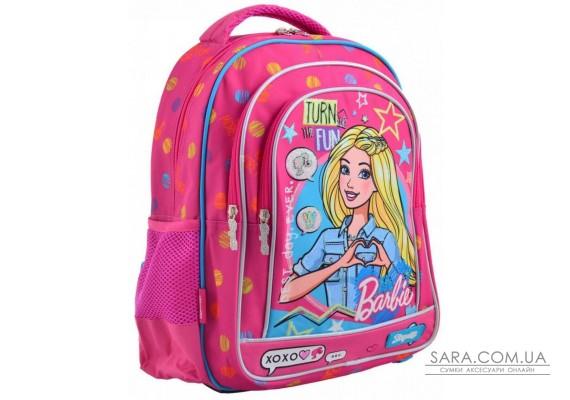 Шкільний рюкзак 1 Вересня 12,5 л для дівчаток S-22 «Barbie» (556335)