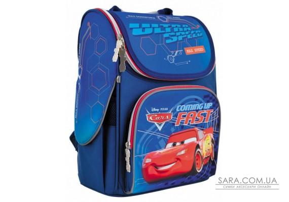 Шкільний каркасний рюкзак 1вересня 12 л для хлопчиків H-11 «Cars» (556154)