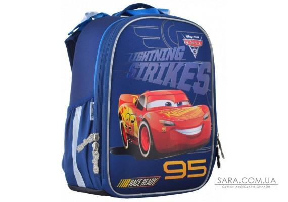 Шкільний каркасний рюкзак 1вересня 15 л для хлопчиків H-25 «Cars» (555368)