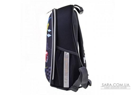 Шкільний каркасний рюкзак 1 Вересня H-27 «Racing» 12 л (557712)