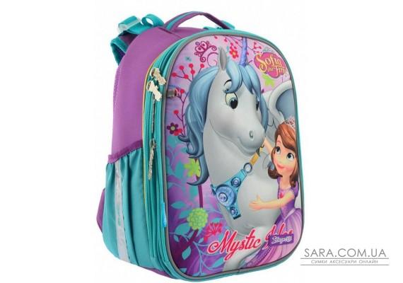 Шкільний каркасний рюкзак 1 Вересня H-25 «Sofia» 15 л (556195)