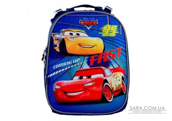 Шкільний каркасний рюкзак 1 Вересня H-25 «Cars» 15 л (556201)
