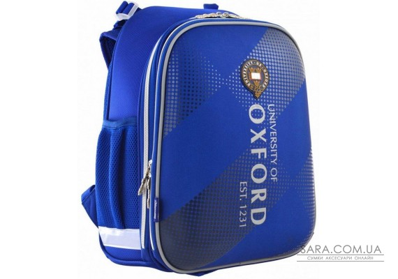 Шкільний каркасний рюкзак 1 Вересня H-12 «Oxford» 16,5 л (555948)
