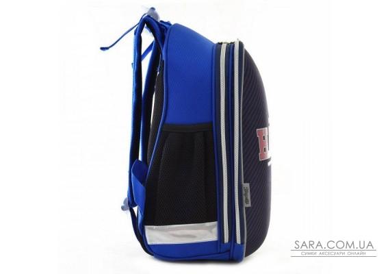 Шкільний каркасний рюкзак 1 Вересня 29х38х15 см 16 л для хлопчиків H-12-2 Harvard (554607)