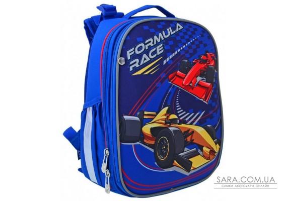 Шкільний каркасний рюкзак YES H-25 «Formula Race» 15 л (556185)