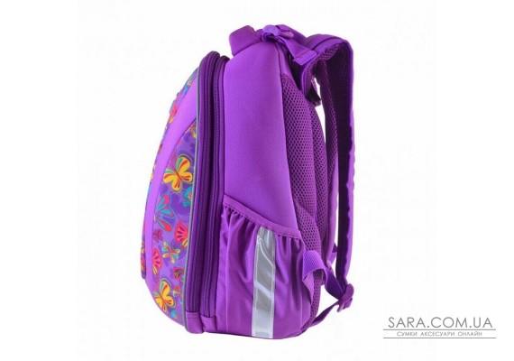 Шкільний каркасний ранець YES 20,5 л H-28 «Butterfly dance» (557733)