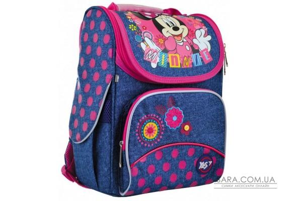 Шкільний каркасний рюкзак YES H-11 «Minnie» 12 л (556140)
