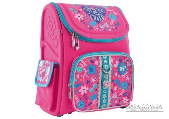 Шкільний каркасний рюкзак YES H-17 «Cute» 14 л (556325)