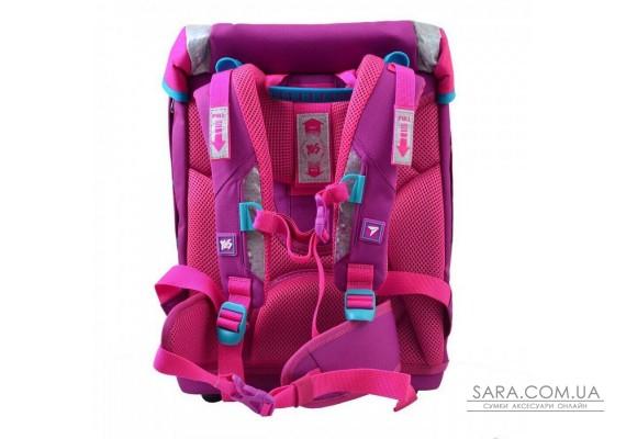 Шкільний каркасний рюкзак YES H-32 «Butterfly» 18 л (556231)