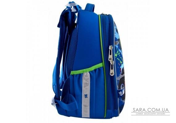 Шкільний каркасний рюкзак YES H-25 «M-Trucks» 15 л (556187)
