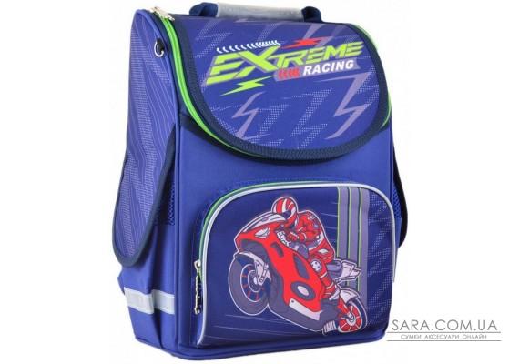 Шкільний каркасний рюкзак Smart 26х34х14 см 12 л для хлопчиків PG-11 Extreme racing (554551)