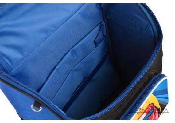 Школьный каркасный рюкзак Smart 26х34х14 см 12 л для мальчиков PG-11 Car (554545)