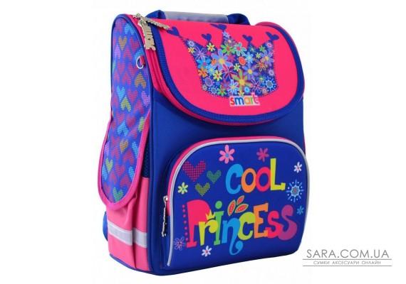 Шкільний каркасний рюкзак Smart 12 л для дівчаток PG-11 «Cool Princess» (555906)