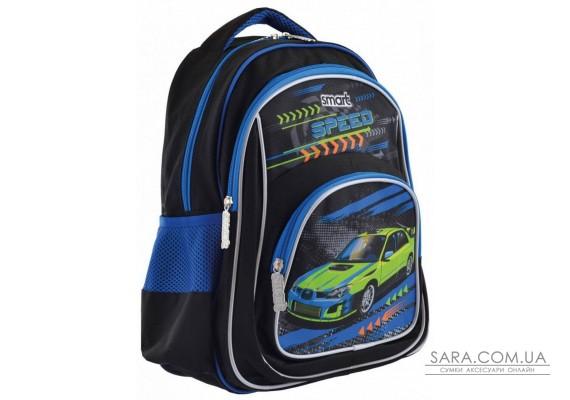 Шкільний рюкзак Smart 19,5 л для хлопчиків ZZ-01 «Tear Up The Track» (557686)