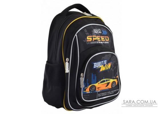 Шкільний рюкзак Smart 20 л для хлопчиків ZZ-01 «Speed Champions» (556817)