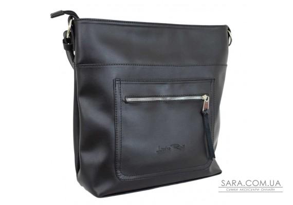 611 сумка чорна г Lucherino