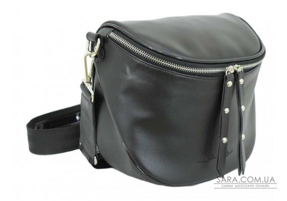 603 сумка чорна г лак н Lucherino