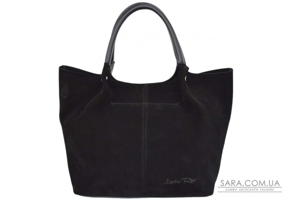 520 сумка замш черная н Lucherino