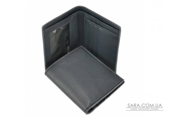 Синє шкіряне чоловіче портмоне Tiding Bag SM4-002BL