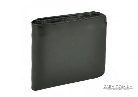 Чорне шкіряне чоловіче портмоне Tiding Bag SM7-8049A