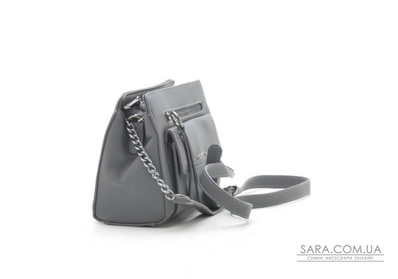 Клатч David Jones TD004 d. grey