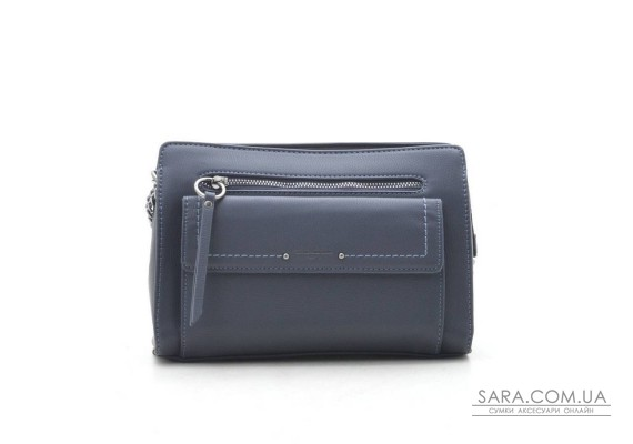 Клатч David Jones TD004 d. blue