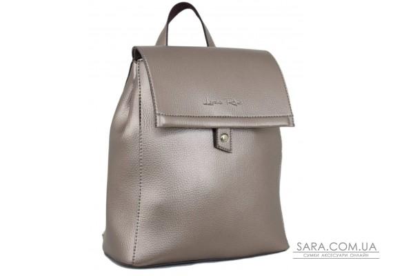 608 рюкзак срібна бронза Lucherino