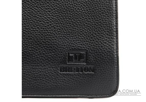 Сумка Мужская Планшет кожаный BRETTON BP 3596-4 black