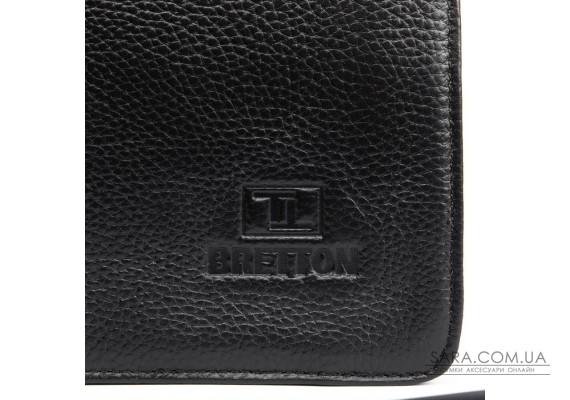 Сумка Чоловіча Планшет шкіряний BRETTON BP 3596-3 black