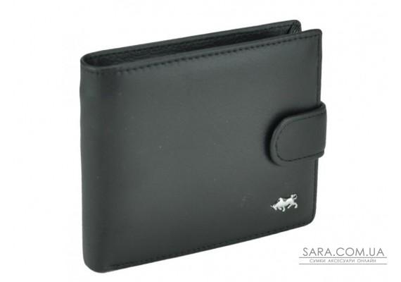 Чорне шкіряне чоловіче портмоне Tiding Bag A7-208-1A