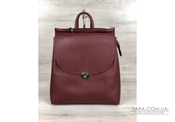 Молодежный сумка-рюкзак Эшби бордового цвета WeLassie