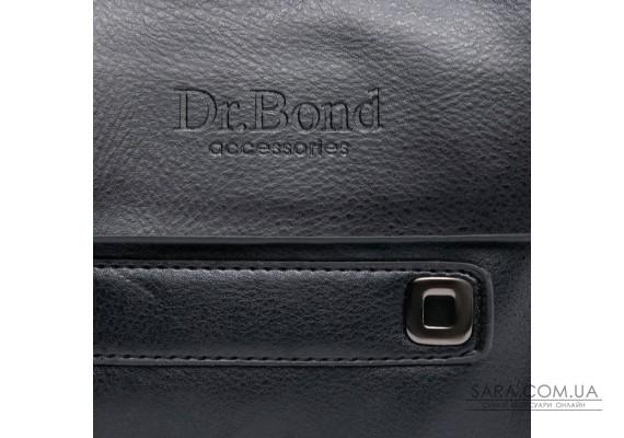 Сумка Чоловіча Планшет шкірзамінник DR. BOND GL 512-0 black