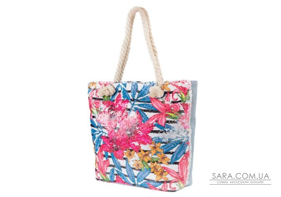 Жіноча пляжна тканинна сумка ETERNO (ЭТЕРНО) ETA29355-3