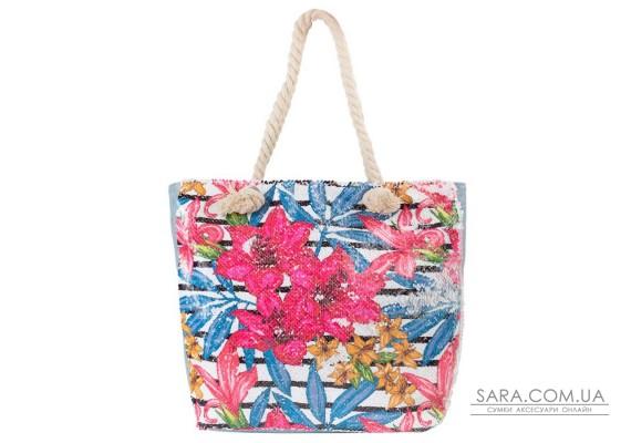 Женская пляжная тканевая сумка ETERNO (ЭТЕРНО) ETA29355-3