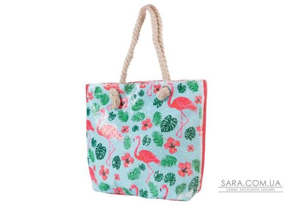 Женская пляжная тканевая сумка ETERNO (ЭТЕРНО) ETA29355-7