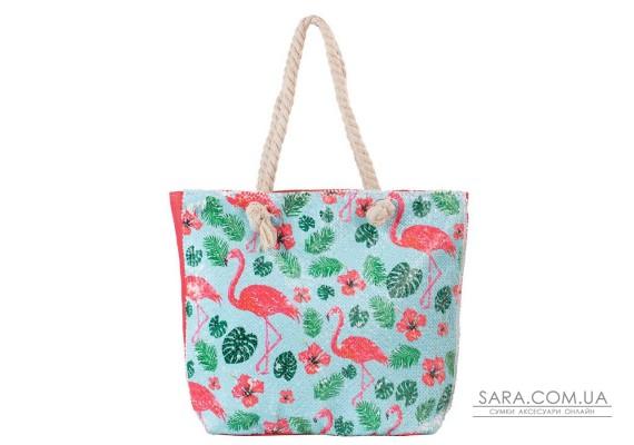 Жіноча пляжна тканинна сумка ETERNO (ЭТЕРНО) ETA29355-7