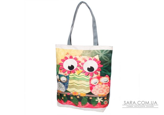 Женская пляжная тканевая сумка ETERNO (ЭТЕРНО) DET1801-5