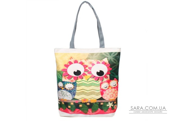 Жіноча пляжна тканинна сумка ETERNO (ЭТЕРНО) DET1801-5