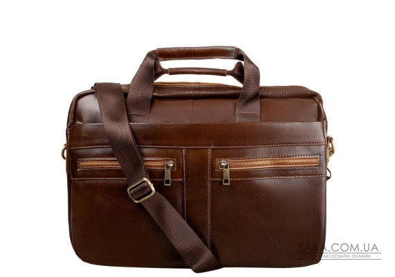 Шкіряна чоловіча сумка з кишенею для ноутбука ETERNO (ЭТЭРНО) RB-BX1120C