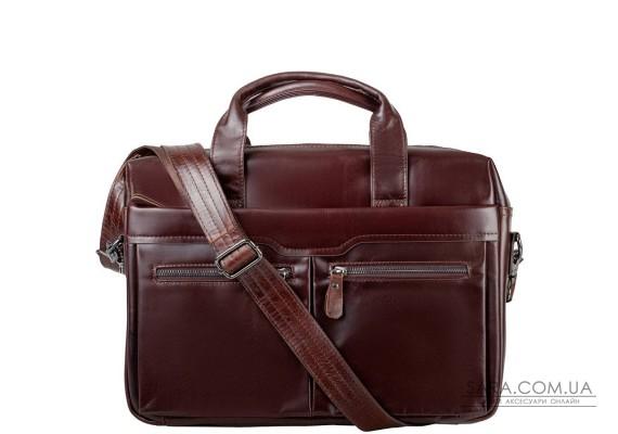Шкіряна чоловіча сумка з кишенею для ноутбука ETERNO (ЭТЭРНО) RB-9005C