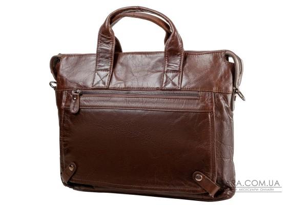 Шкіряна чоловіча сумка з кишенею для ноутбука ETERNO (ЭТЭРНО) RB-7120C