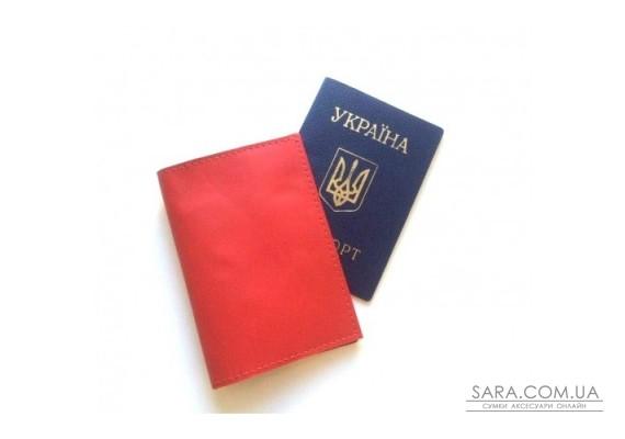 Обкладинка на паспорт червоний Dekey